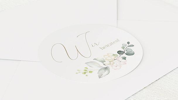 Umschlagssiegel - Tender Florals