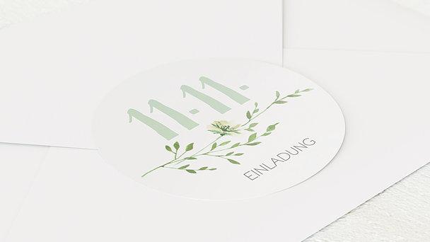 Umschlagssiegel - Grüne Pracht