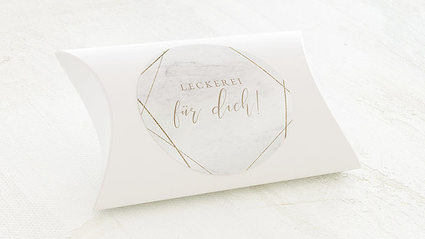 Dekosticker - Gold & Marmor