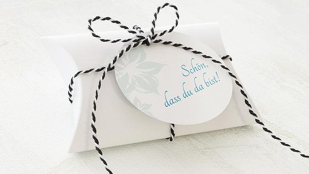 Geschenkanhänger - Weiße Hochzeit