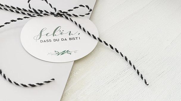 Geschenkanhänger - Blütentraum