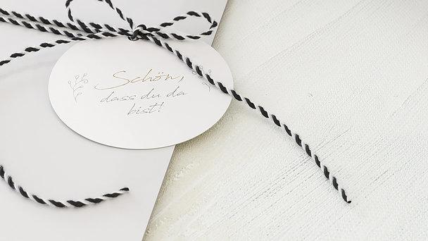 Geschenkanhänger - Hochzeitsgeschichten