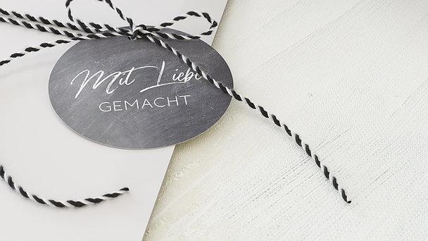Geschenkanhänger - Tafelglanz