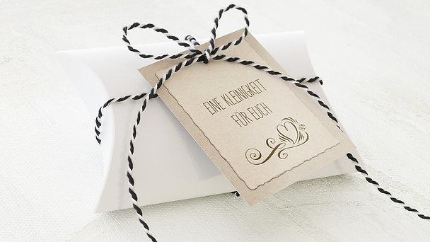 Geschenkanhänger - Romantische Post