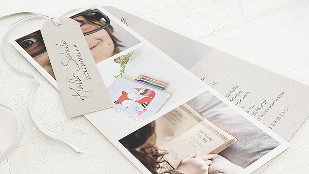 Einladungen zur Einschulung - ABC-Wunder