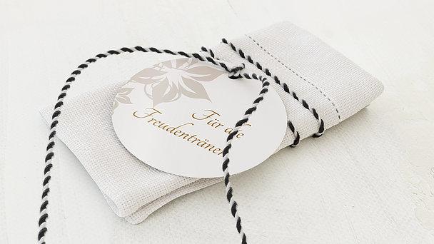 Freudentränen Anhänger - Weiße Hochzeit