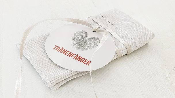 Freudentränen Anhänger - Fingerprint