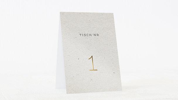 Tischnummern - Forever true