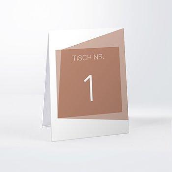 Tischnummern - Himmelwärts
