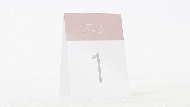 Tischnummern - Sinnesrauschen