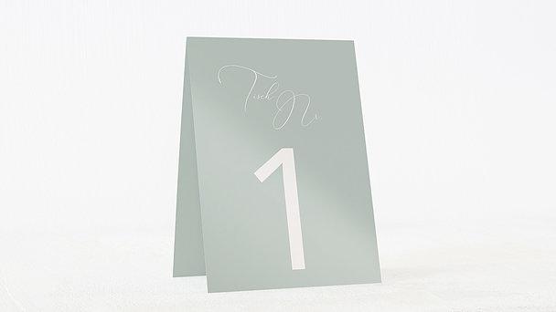 Tischnummern - Spuren am Himmel