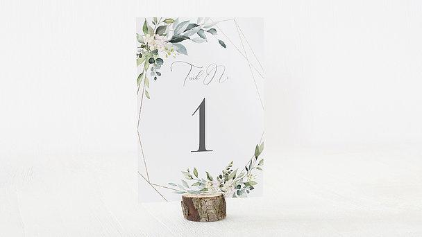 Tischnummern - Tender Florals