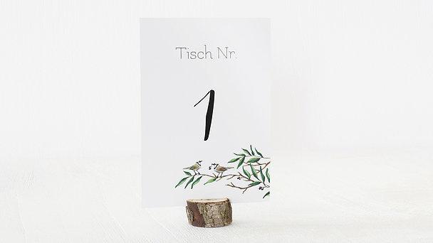 Tischnummern - Liebesnest