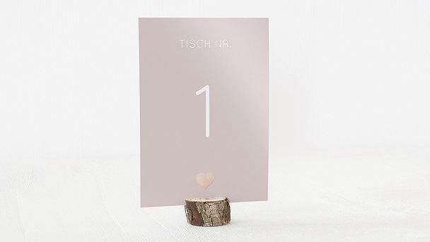 Tischnummern - Glitterfunken
