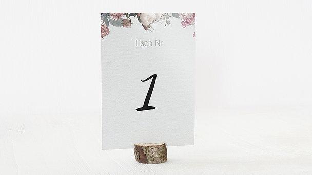 Tischnummern - Blütenwalzer