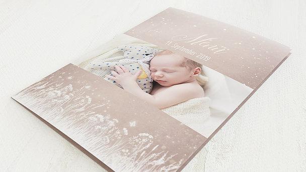 Menükarten - Zauberlicht Baby