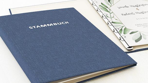 Stammbuch - Edles Grün