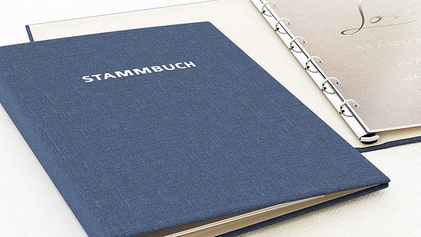 Stammbuch - Weicher Glanz