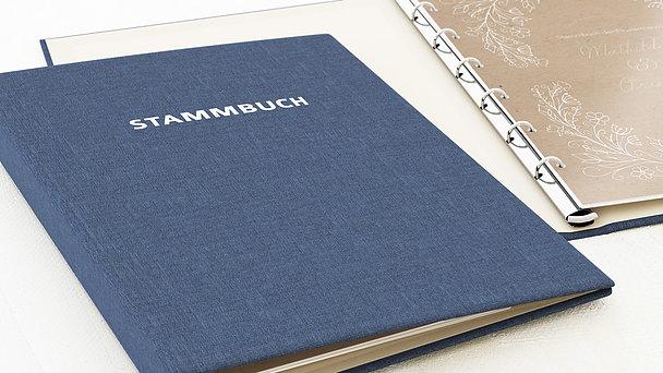 Stammbuch - Zart erblüht