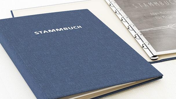 Stammbuch - Liebesknoten