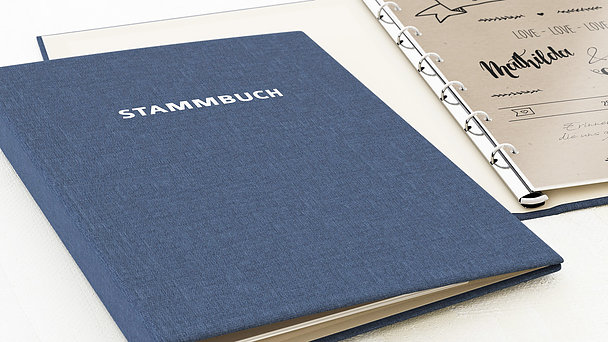 Stammbuch - Kraftpapier