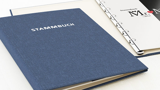 Stammbuch - Mr & Mrs