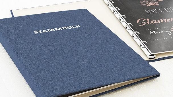 Stammbuch - Ankündigung