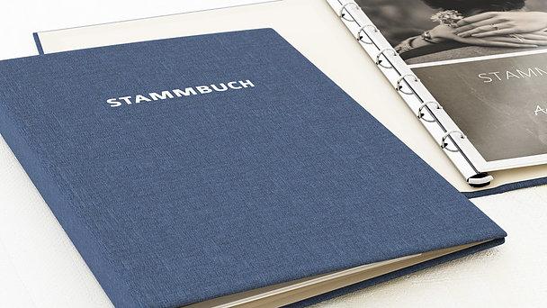 Stammbuch - Getäfelt