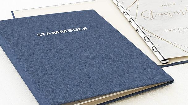 Stammbuch - Gold & Marmor