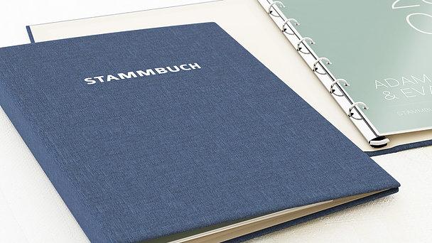 Stammbuch - Große Nummer