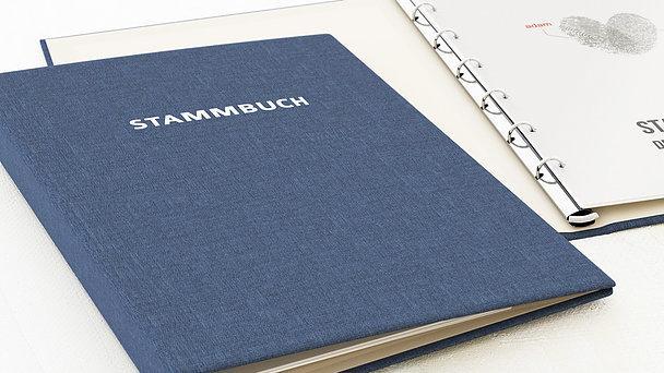 Stammbuch - Fingerprint