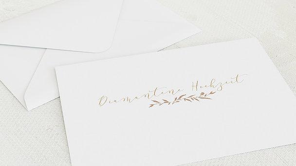 Umschlag mit Design Diamantene Hochzeit - Rankenzauber Diamant