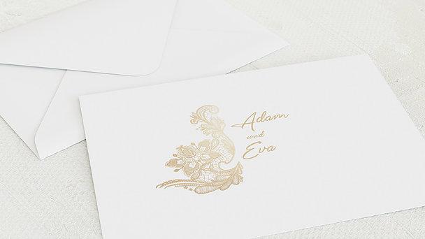 Umschlag mit Design Diamantene Hochzeit - Liebevolle Anmut