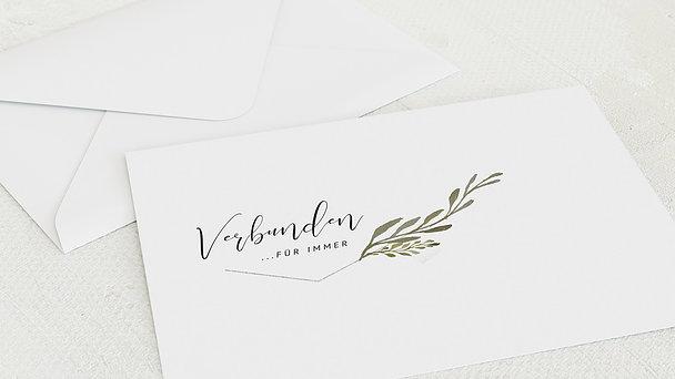 Umschlag mit Design Diamantene Hochzeit - Elegant gerankt