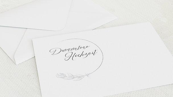 Umschlag mit Design Diamantene Hochzeit - Diamantener Glücksfunke