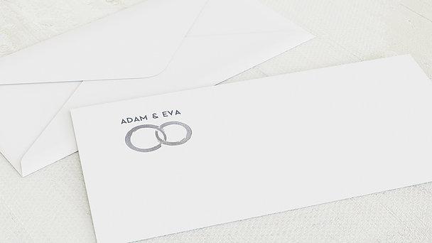 Umschlag mit Design Diamantene Hochzeit - Edler Diamant