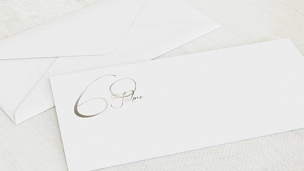 Umschlag mit Design Diamantene Hochzeit - Diamantglanz
