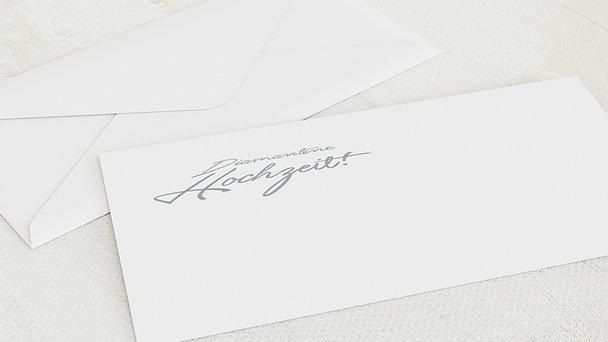 Umschlag mit Design Diamantene Hochzeit - Diamantweg