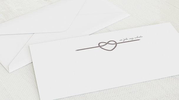 Umschlag mit Design Diamantene Hochzeit - Starke Verbindung