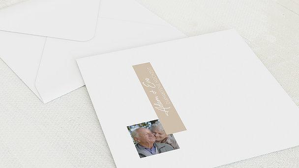 Umschlag mit Design Diamantene Hochzeit - Nur 60 Jahre