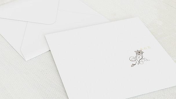 Umschlag mit Design Diamantene Hochzeit - Sinfonie der Blüten