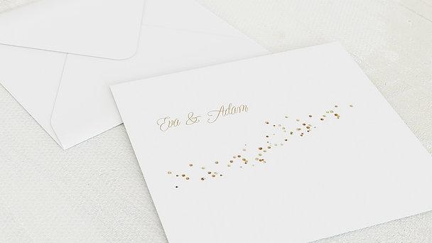 Umschlag mit Design Diamantene Hochzeit - Diamant-Geflitter