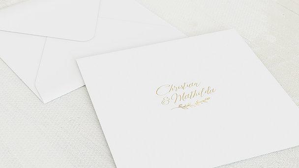 Umschlag mit Design Diamantene Hochzeit - Diamantener Spross
