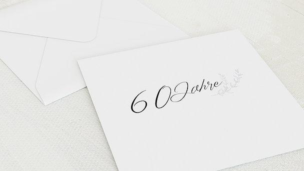 Umschlag mit Design Diamantene Hochzeit - Freudenjahre