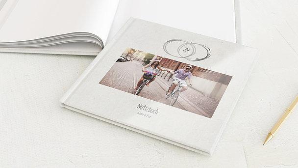 Notizbuch Hochzeit - Die Ewigkeit