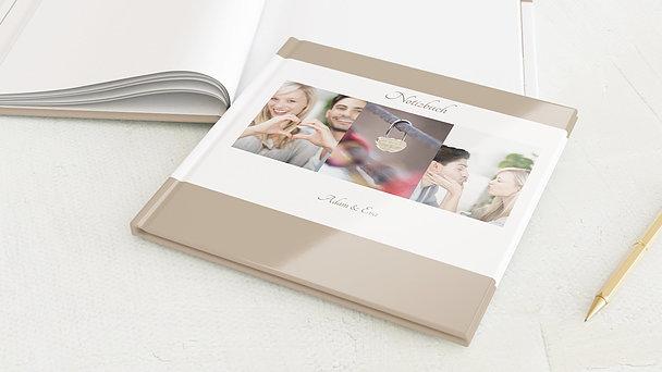 Notizbuch Hochzeit - Ja, ich will