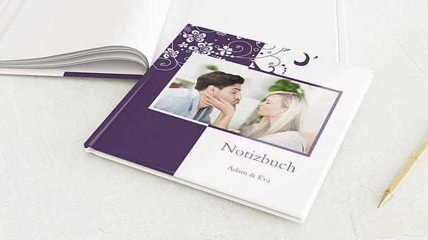 Notizbuch Hochzeit - Garten der Träume
