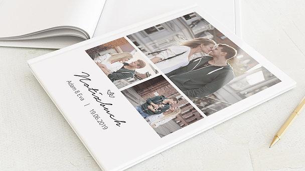 Notizbuch Hochzeit - Herzklopfen