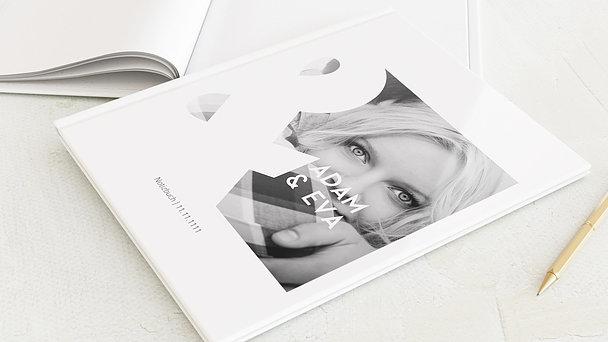 Notizbuch Hochzeit - Du & ich