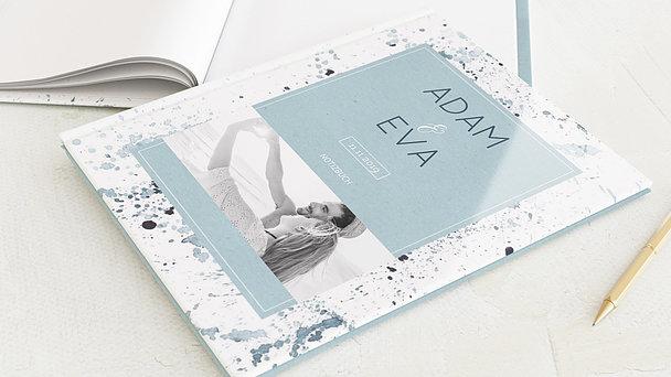 Notizbuch Hochzeit - Aquarell Impression
